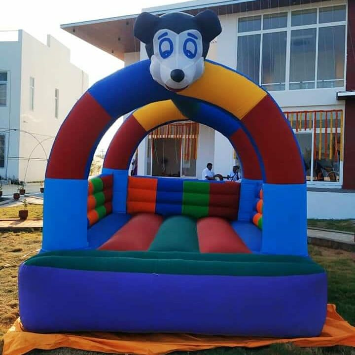 Balloon jumpy game on rent for events in bhubaneswar odisha