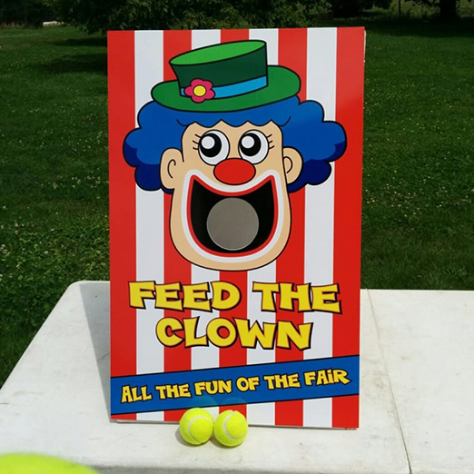 feed the clown game activity for events in bhubaneswar